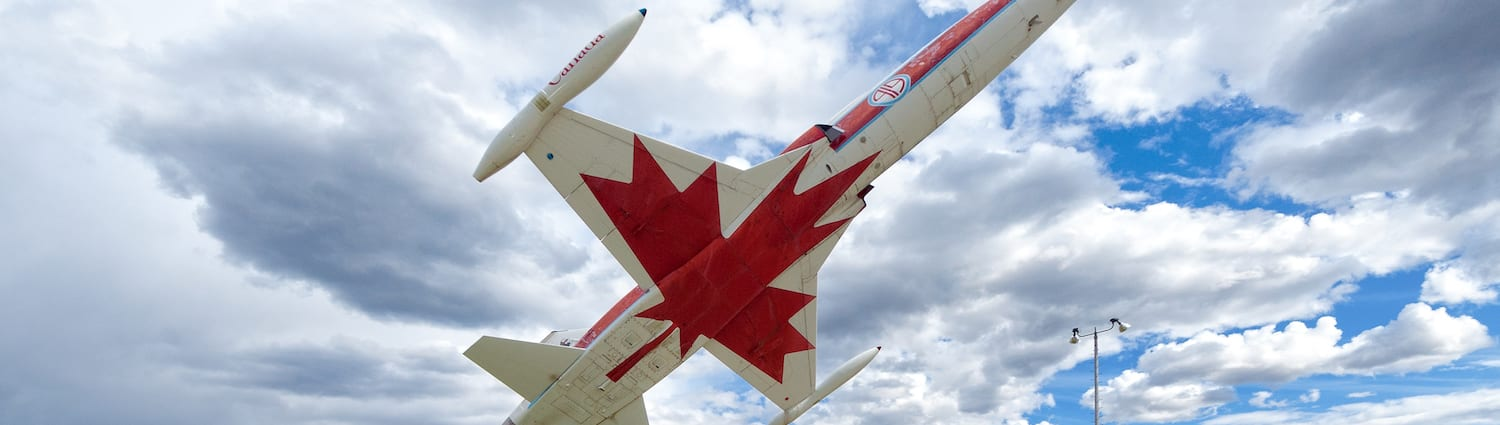 Canadian jet sculpture