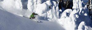 Skiing in Kamloops